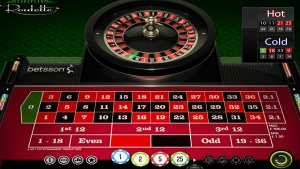 play online european roulette at betsson casino